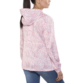 Columbia Flash Forward Printed Windbreaker Jacket Women white print